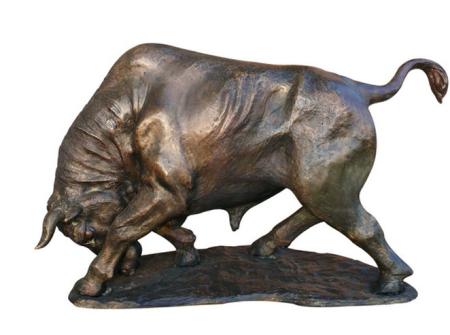 รูปปั้นวัว  Animal / SBA1-013