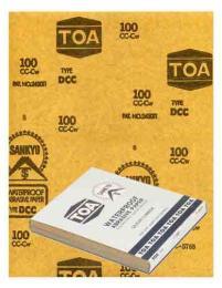 กระดาษทราย TOA #120