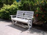 เก้าอี้กทม.สีขาว  FGF-MPT03