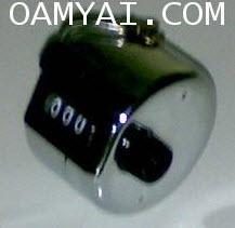 นับเลขแบบมือกด (HAND-TALLY COUNTER) ''TOGOSHI 000527
