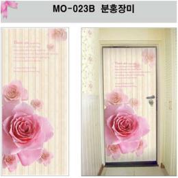 สติ๊กเกอร์ติดประตู ลายดอกกุหลาบ MO-023B