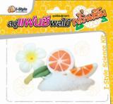 ชุดเรียนรู้การทำ สบู่แฟนซีผลไม้กลิ่นส้ม CK3001