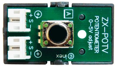 แผงวงจรตัวต้านทานปรับค่าได้แบบตัวตั้ง ZX-POTV