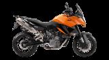 รถจักรยานยนต์ KTM 990 SM T (orange)