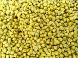 เม็ดพลาสติก HDPE รีไซเคิล เกรดฉีด สีเหลือง