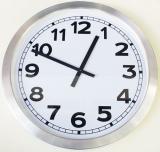 นาฬิกาแขวนผนัง  Aluminum Wall Clock L302