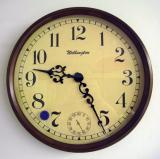 นาฬิกาแขวนไม้  G10241