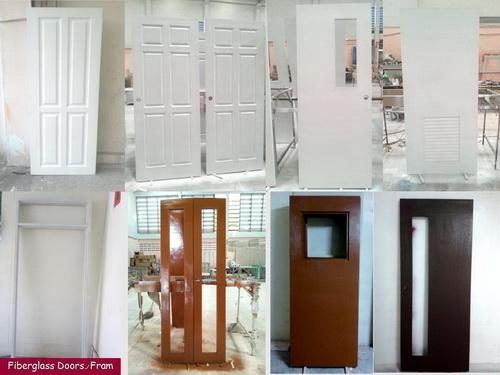 ประตูไฟเบอร์กลาส Fiberglass Doors