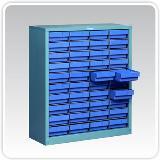 ชั้นวางสินค้าอุตสาหกรรม Small Parts Cabinet