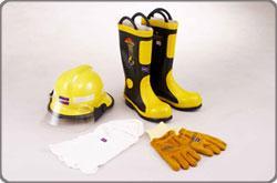 ชุดดับเพลิงและอุปกรณ์ป้องกันทุกประเภท