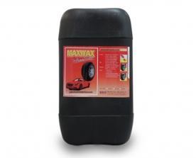 "A 106 (F) ผลิตภัณฑ์ทาล้อสีแดง สูตรเข้มข้นสีม่วง ""แมกซ์แว๊กซ์"" MAX-WA"