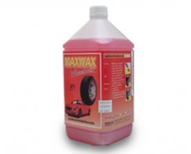 """A 106 (A3) (F) ผลิตภัณฑ์ทาล้อสีแดง สูตรเข้มข้นสีม่วง """"แมกซ์แว๊กซ์"""" M"""