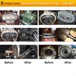ตัวอย่างงานซ่อมปั๊มสุญญากาศ Mechanical Booster Pump