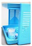 ชั้นเก็บของพลาสติก Smart shelf (no.1009)