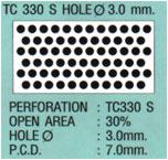 ฝ้าเพดานแบบสี่เหลี่ยม TC330