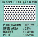 ฝ้าเพดานแบบสี่เหลี่ยม TC1821