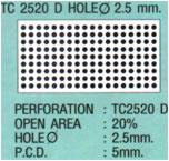 ฝ้าเพดานแบบสี่เหลี่ยม TC2520