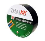 THAI KK เทปกาว เทปพันสายไฟรุ่นธรรมดา ขนาด 19 มม. x 10 เมตร รุ่น KK Green 12 - สีดำ