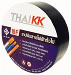 THAI KK เทปพันสายไฟรุ่นทนไฟ ขนาด 19 มม. x 10 เมตร รุ่น KK Blue 18F (TIS) - สีดำ