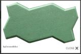 อิฐตัวหนอนสีเขียว