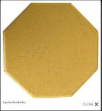 อิฐแปดเหลี่ยมสีเหลือง