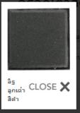 อิฐลูกเต๋าสีดำ