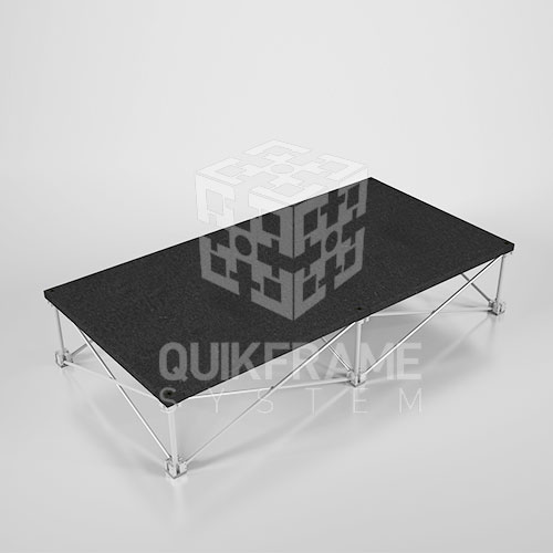 เวทีสำเร็จรูป Quikstage Pro 116.4 สูง 20  cm