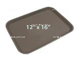 ถาดเสิร์ฟอาหารกันลื่น สี่เหลี่ยม 12 x 16 นิ้ว 1603-006