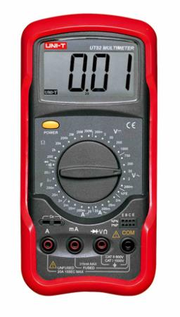มัลติมิเตอร์ดิจิตอล UT52