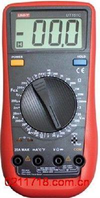 มัลติมิเตอร์ดิจิตอล UT151C