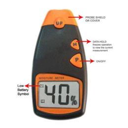 MM04-เครื่องวัดความชื้นไม้ และวัสดุ