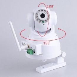IP01-กล้องวงจรปิดไร้สาย WIFI
