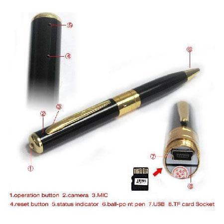 SC06-กล้องปากกา HD