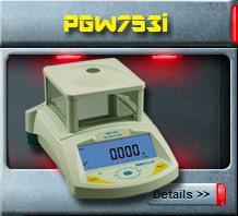 เครื่องชั่งน้ำหนักรุ่น PGW753i