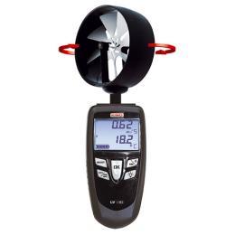 เครื่องวัดความเร็วลม เส้นผ่าศูนย์กลางใบพัด 100 มม. LV 130