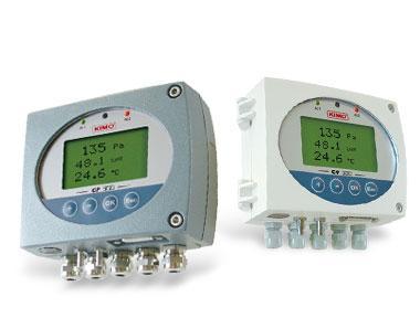 เครื่องวัดอัตราการไหลของอากาศและอุณหภูมิ CP 300