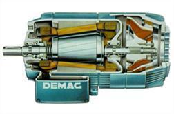 มอเตอร์โรเตอร์ทรงกรวย Demag Type KB
