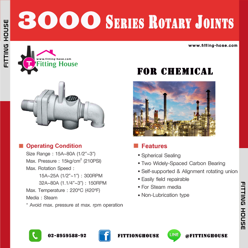 ROTARY JOINT Series 3000