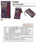 มัลติมิเตอร์แบบดิจิตอล SANWA CD800a