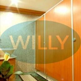 แผงกั้นห้องน้ำสำเร็จรูป Willy