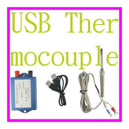 เครื่องวัดอุณหภูมิ PC USB Thermocouple TH-1000