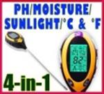 เครื่องวัด pH ในดิน Digil 4 in 1 soilmeter KCB-300