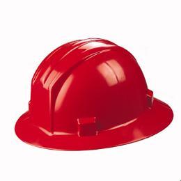 หมวกนิรภัยปีกรอบสายยางยืด