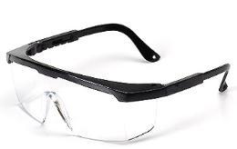 แว่นตานิรภัยชนิดเลนส์ใส