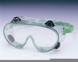 แว่นครอบตามีวาล์วเลนส์ใส Z87.1