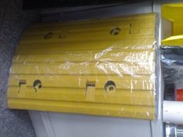 ยางชะลอความเร็ว30 50 5ซม.สีเหลือง