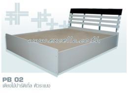 เตียงไม้ปาร์ติเกิล PB 02