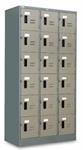 ตู้ล็อคเกอร์ 18 ประตู (มอก.) , LK-118 (000041)