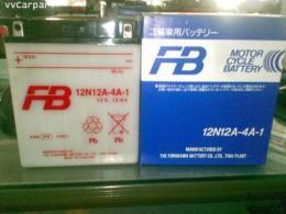 แบตเตอรี่ FB 12N12A-4A-1