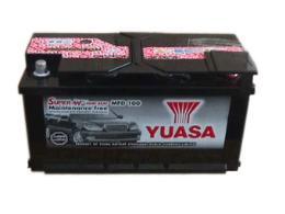 แบตเตอรี่แห้ง ยัวซ่า MFD100 สำหรับรถเบนซ์ และรถBMW